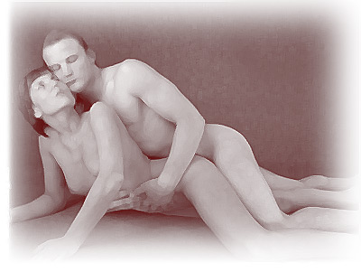 An intimate lovemaking position that both partners can enjoy in a sensual moment